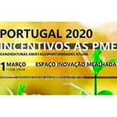 Workshop sobre Incentivos às PME do Portugal 2020 25/02/2019