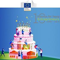 10 Anos de Erasmus para Jovens Empreendedores